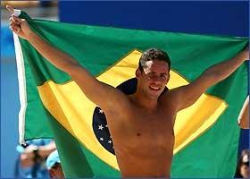 Thiago pode levar seis ouros na natação